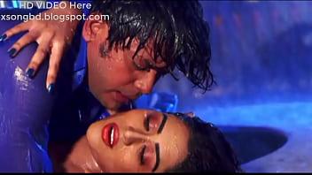 Zakia baro Momo showing her big boobs and navel in the bnagla movie rain song amar prothom valobasha Thumb