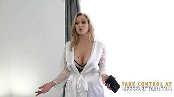 Julia Ann loves the taste of your cock POV