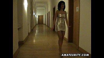 Жену отъебали в отеле