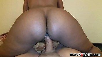 Big bouncing black booty riding   Video Make Love
