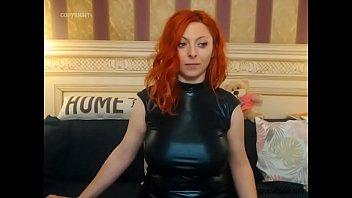 Erotic red head woman