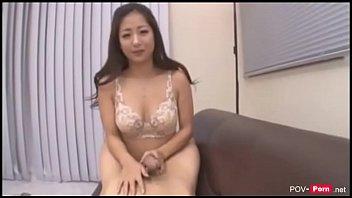 Big tits Asian Pornstar Satomi Suzuki uncensored awesome titjobs