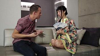 Japanese nuru masseuse doesn't speak english - Marica Hase and Justin Hunt