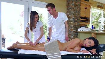 Brazzers - Sexy threesome massage