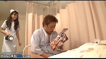 Japanese nurse caughts patient masturbating