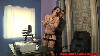 Boss dominating secretary sub
