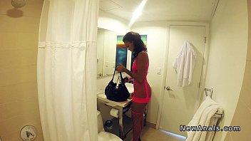 Ebony stripper have nasty anal fuck pov
