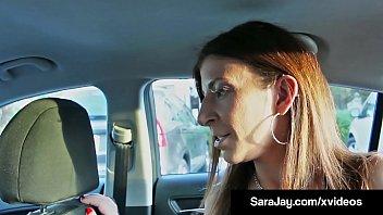 Milf Sara Jay Gives BBC Boober Driver 5 Stars After Fucking!
