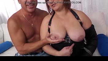 SCAMBISTI MATURI - Mature Italian BBW Kiara Rizzi enjoys dirty anal swinger
