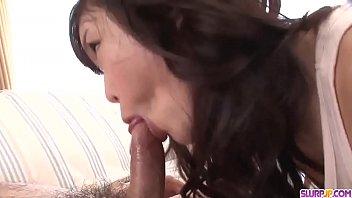 Super exclusive cock sucking special by hot Megumi Shino - More at Slurpjp.com