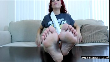 2 feet to help you cum