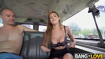 Alexa Vega In Sexy Realtor Rides on The Bus