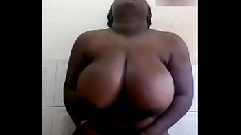 BlackBigBoobs showing privately