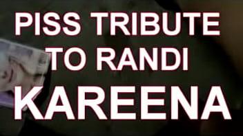 piss tribute on Randi Kareena Kapoor Khan