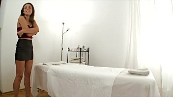 A hot massage turns into a hard fuck