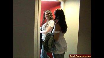 Видео подружки лесбиянки разделись перед друг другом
