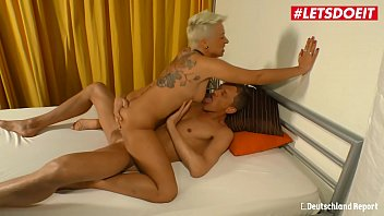 LETSDOEIT - Busty German Milf Rides Cock Like a Pro