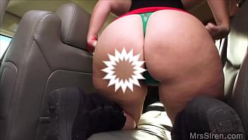 big beautiful woman  masturbates in public