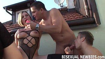 Геи порно в троём с женщиной
