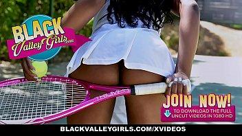BlackValleyGirls - Horny Private School Girls Have Threesome