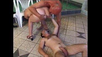 Granny piss and fuck at pool and sauna | Video Make Love