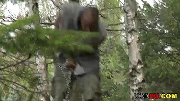 VODEU - Police officers punish a black stud