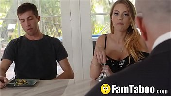 Naughty Milf Aunt Sucks &amp_ Fucks Nephews Forbidden Cock