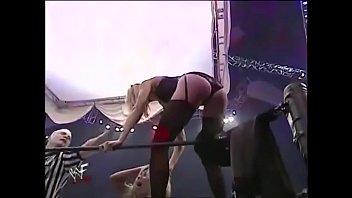 Torrie Wilson vs Stacy Keibler. Lingerie match. No Mercy 2001.