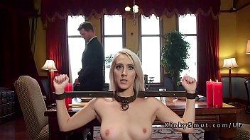 Two slave step sisters anal bondage fuck