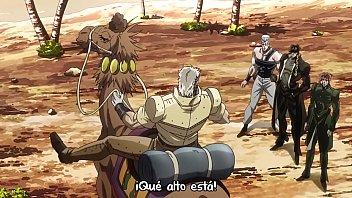 jojo's bizarre adventure stardust crusaders capitulo 18 (sin censura)