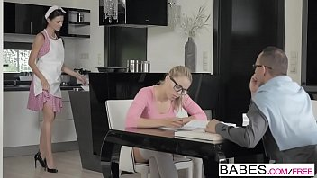Babes - Step Mom Lessons - Christen Courtney and George Lee and Ania Kinski - A Tasty Distraction