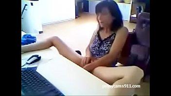 Mom masturbate recorded by son - pussycams911.com