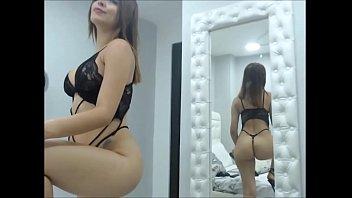 SamanthaBunny- Mira su gran culo- webcam