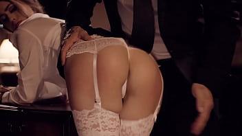 Submissive Secretary Serves Her Boss - Jill Kassidy - PURE TABOO