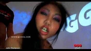 Voracious busty asian bitch sex party