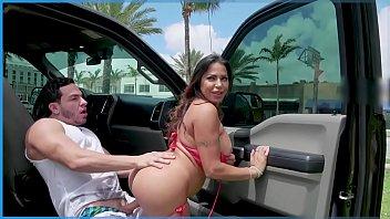 BANGBROS - Julianna Vega Loves to Fuck in Public So Peter Green Lends Her A Cock