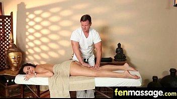 Massage Girl Sucks the Tip for a Tip 6