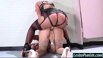 (abella&amp_phoenix) Horny Lesbians Play Hard Punishing On Cam mov-02