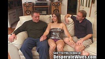 Dana Fulfills Her Slut Wife MFM Three Way Fantasy w/Dirty D