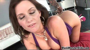 Busty MILF Fucked by Black Dick