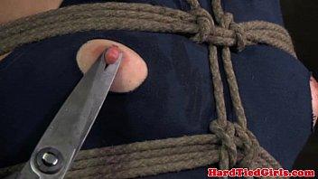 المنشعب عبودية حبل الفاسقات فستان قطع
