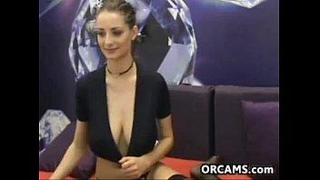 Sexy Slut Shows Off Her Big Tits