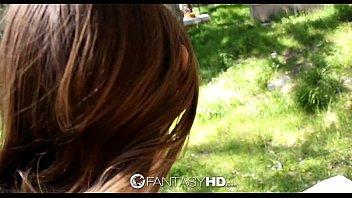 HD FantasyHD - Alice March has wild outdoor sex