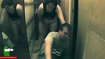 fat girl gets her pussy eaten in a hallway DIE011