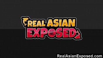 RealAsianExposed - Hottest Interracial Threesome To Hit The Internet