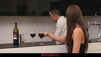Karups - Sexy MILF Tina Kay Fucks Her Naked Chef Date