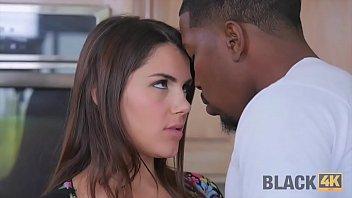 BLACK4K. Black repairman can satisfy sexual needs of white chick