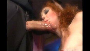 Мял грудь кончил ей в рот