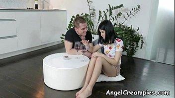 Teen Eats Her Creampie - Jody D - AngelCreampies