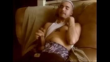 Naked Latino gangster